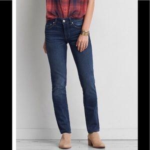 American Eagle skinny straight jeans 6 regular